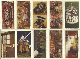 wartime cigarette cards